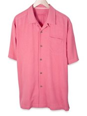 Tommy Bahama® Tiki Palms Silk Camp Shirt