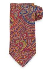 Paisley Italian Silk Tie