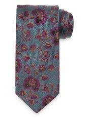 Botanical Woven Italian Silk Tie