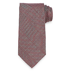 Stripe Woven Italian Silk Tie $40.00 AT vintagedancer.com