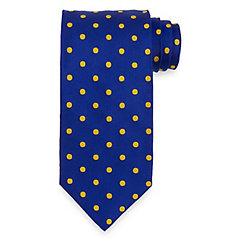Dots Woven Italian Silk Tie $70.00 AT vintagedancer.com