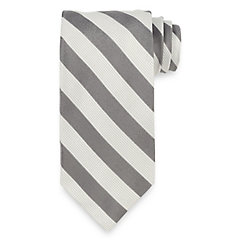 Stripe Woven Italian Silk Tie $30.00 AT vintagedancer.com