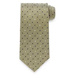 1920sMensTies038BowTies Dots Woven Silk Tie $45.00 AT vintagedancer.com