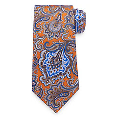 1920sMensTies038BowTies Paisley Printed Silk Tie $45.00 AT vintagedancer.com