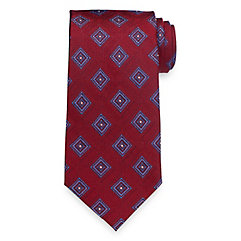 1920sMensTies038BowTies Medallion Woven Silk Tie $45.00 AT vintagedancer.com