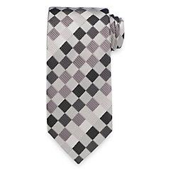 New 1960s Style Men's Ties Geometric Handmade Italian 7-fold Silk Tie $60.00 AT vintagedancer.com