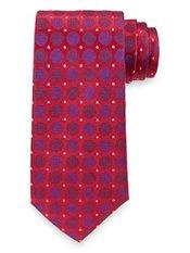 Circles Woven Silk Tie