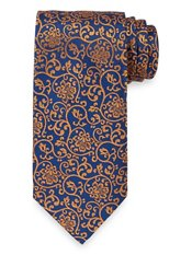 Botanical Woven Silk Tie