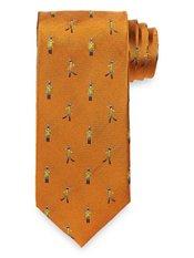Toy Soldier Woven Silk Tie