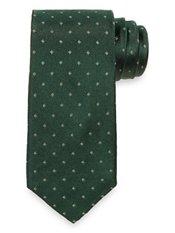 Small Pattern Woven Silk Tie
