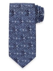 Abstract Woven Silk Tie