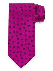 Dot Woven Italian Silk Tie