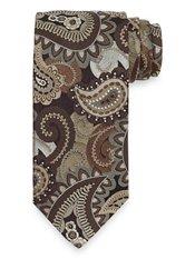 Paisley Woven Italian Silk Tie