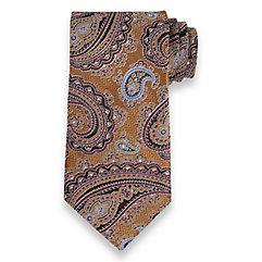 Paisley Silk Woven Tie $50.00 AT vintagedancer.com