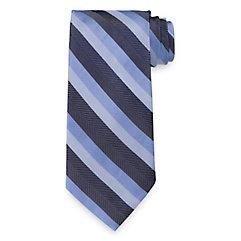 New 1920s Mens Ties & Bow Ties Stripe Woven Silk Tie $73.00 AT vintagedancer.com