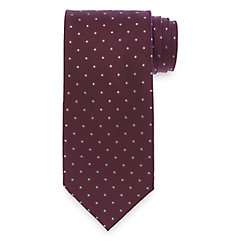 Easy1940sMen8217sFashionGuide Dots Woven Silk Tie $73.00 AT vintagedancer.com