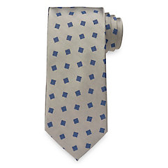 1940s Style Mens Clothing Geometric Woven Silk Tie $73.00 AT vintagedancer.com