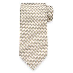 1930sStyleMen8217sClothing Houndstooth Woven Italian Silk Tie $73.00 AT vintagedancer.com