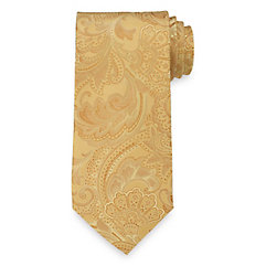 New 1920s Mens Ties & Bow Ties Paisley Woven Silk Tie $73.00 AT vintagedancer.com