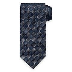New 1920s Mens Ties & Bow Ties Geometric Woven Italian Silk Tie $30.00 AT vintagedancer.com