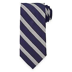 New 1920s Mens Ties & Bow Ties Stripe Woven Italian Silk Tie $73.00 AT vintagedancer.com