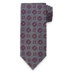 New 1920s Mens Ties & Bow Ties Medallion Woven Italian Silk Tie $30.00 AT vintagedancer.com