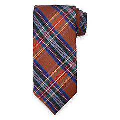 New 1930s Mens Fashion Ties Plaid Woven Italian Wool and Silk Blend Tie $35.00 AT vintagedancer.com