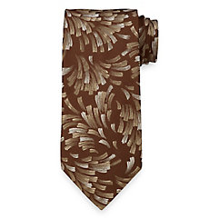 Easy1940sMen8217sFashionGuide Abstract Woven Italian Silk Tie $73.00 AT vintagedancer.com
