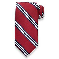 1920sMensTies038BowTies Stripe Woven Silk Tie $15.00 AT vintagedancer.com