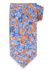 Botanical Printed Italian Silk Tie