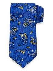 Paisley Woven Silk Tie