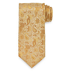 Paisley Woven Silk Tie $40.00 AT vintagedancer.com