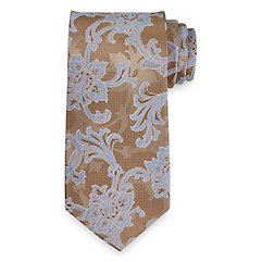 Paisley Woven Silk Tie $30.00 AT vintagedancer.com