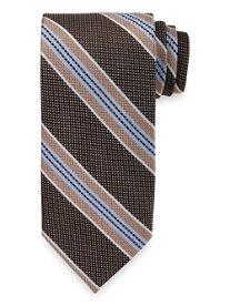 Stripe Woven Italian Silk Tie