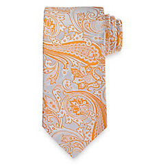 Paisley Woven Italian Silk Tie $30.00 AT vintagedancer.com