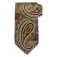 History of 1920s Mens Ties, Neckties, Bowties Paisley Tie $30.00 AT vintagedancer.com
