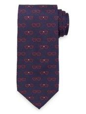 Sunglasses Woven Silk Tie
