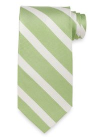 Stripe Woven Silk Tie