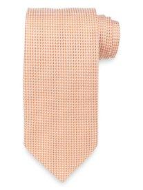 Houndstooth Woven Silk Tie