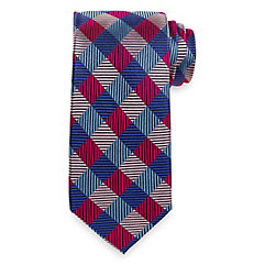 Geometric Woven Silk Tie $73.00 AT vintagedancer.com