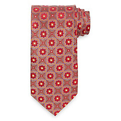 Medallion Woven Silk Tie $40.00 AT vintagedancer.com