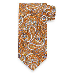 Paisley Printed Cotton Tie $45.00 AT vintagedancer.com