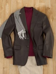New Zealand Lambskin Two-Button Notch Lapel Jacket