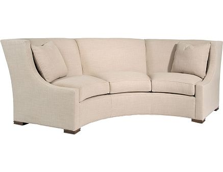 Pearson furniture Curved loveseat sofa