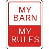 MY BARN SIGN 9 X 12