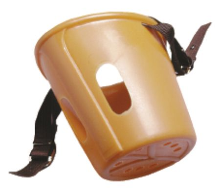 Plastic Anti-Grazing Muzzle Tan