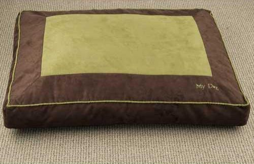 Paw Appeal My Dog's Bed Medium Blue/Brown