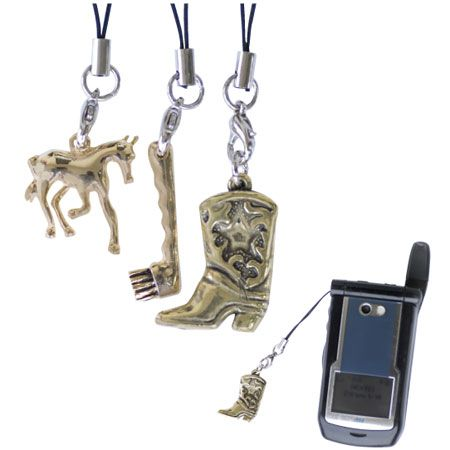 Brass Cell Charms Boot
