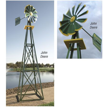 12 ft John Deere Brand Windmill