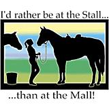 Id Rather Be At The Stall TShirt
